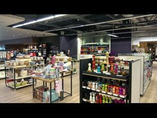The new-look kitchens department at Currys/PC World at Lakeside Retail park